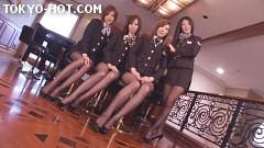 東熱CA大乱交2009 Part1 無修正画像01