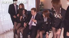 東熱CA大乱交2009 Part1 無修正画像03