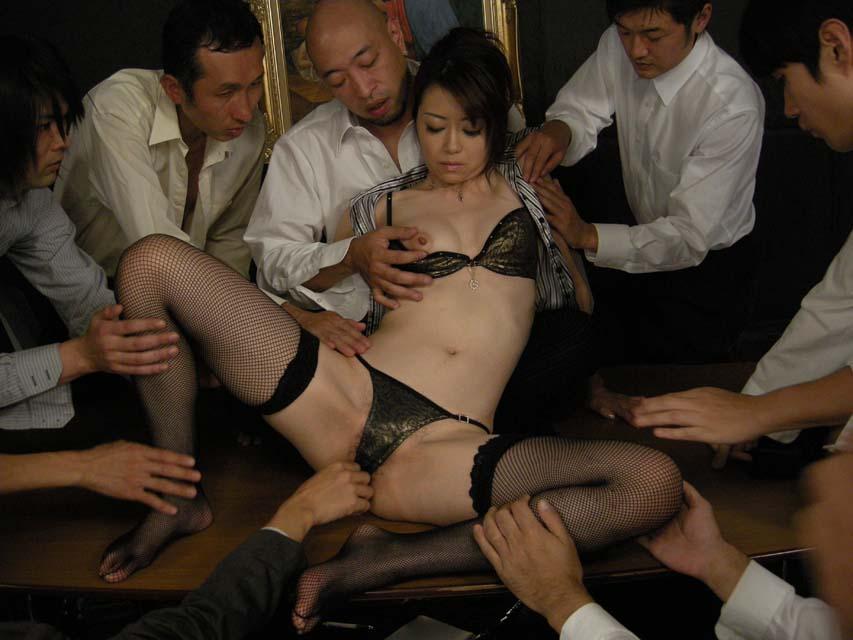 ぶっかけ熟女 Vol.3 : 北条麻妃 無修正画像11