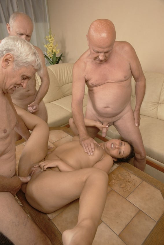 Old man fuck girl xxx frannkie and the gang tag team a door to door saleswoman on gotporn